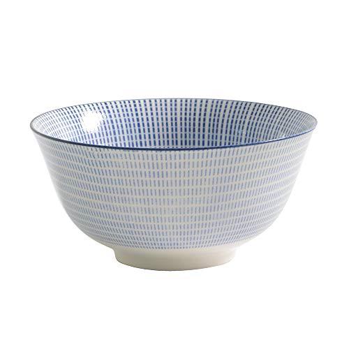 ProCook - Bol à Riz Chinois en Porcelaine - Moyen - Bleu