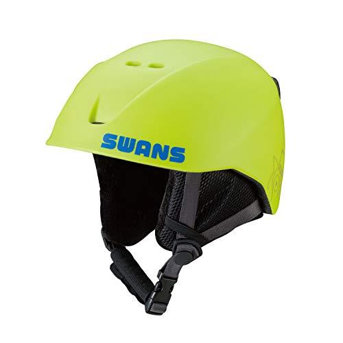 SWANS(スワンズ) スキー スノーボード 子供用 ヘルメット 1歳~8歳 H-56_YG イエローグリーン