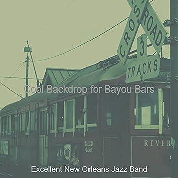 Cool Backdrop for Bayou Bars
