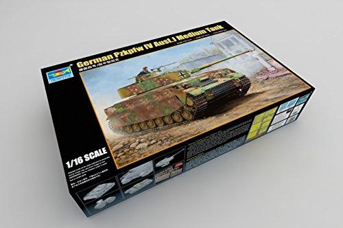 Trumpeter 00921 - Modellbausatz German Pzkpfw IV Ausf J Medium Tank