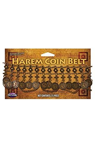 Horror-Shop Ceinture de harem avec des pièces de monnaie