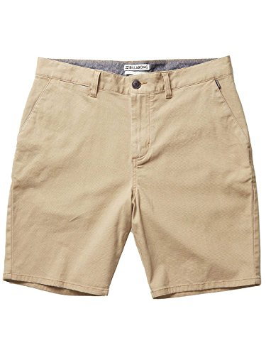 BILLABONG Herren New Order Walkshort, Light Khaki, 34 Zoll