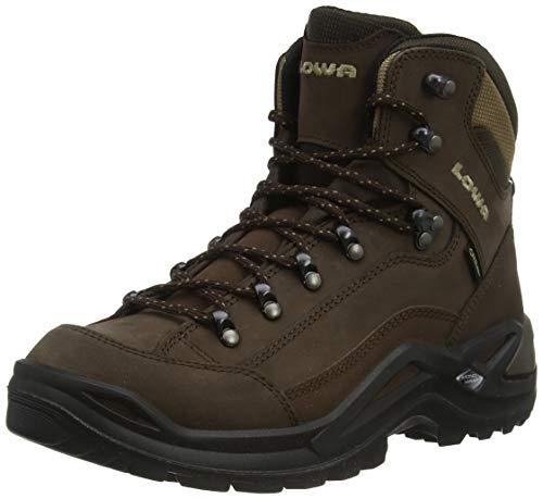 LOWA Boots Renegade Gtx Mid, Men's Renegade Gtx Mid, Expresso/Brown, 9.5 UK (10.5 US)