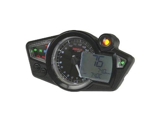 Multifunktions-Tachometer Koso RX1N GP Style schwarz-weiàŸ