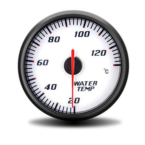 60 mm Racing gemodificeerde auto motorfiets watertemperatuurmeter temperatuurmeter wit 20~130 °C digitale multimeter tester