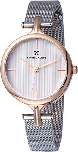 Daniel Klein Analog Silver Dial Women's Watch-DK11914-2