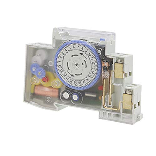 X-DREE SUL 180a Electrical AC 220V 10A 24 horas Dial Time Switch (SUL 180a Electric AC 220V 10A 24 Heures Dial Dial Time Switch