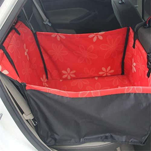 Jlxl Huisdier Carrier Hond Auto Achterbank Carrier Cover, Waterdichte Mand Veiligheid Reizen Mesh Hangende Tassen Honden Zitzak Mand, M