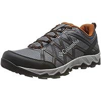Columbia Peakfreak X2 Mid Outdry, Zapatos de Senderismo para Hombre, Gris (Graphite, Dark 053), 43 EU