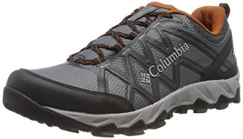 Columbia Herren PEAKFREAK X2 Wanderschuh, Grau (Graphite, Dark Adobe 053), 44 EU