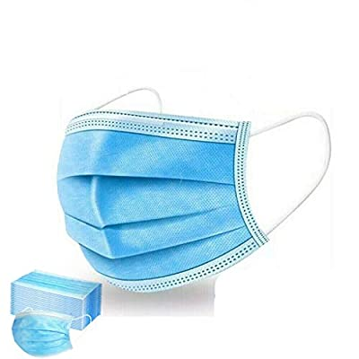50 PCS 3-Ply Breathable Protection Face C-Over USA …