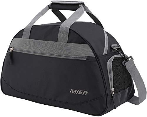 sac de voyage noir blanc avec bordure JH17 Touch sport holdall sacs sport