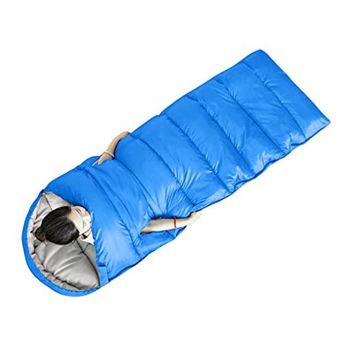 LYB Bolso de Dormir al Aire Libre para Acampar al Agua Senderismo a Prueba de Viento Pollo de sueño a Prueba de Viento Mantenga cálido First Aid Manta de Emergencia Manta de Supervivencia