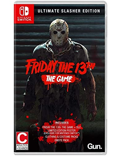Friday the 13th: The Game Ultimate Slasher Edition for Nintendo Switch [USA]