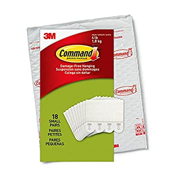 Command Picture Hanging Strips 18-Pairs  36-Strips  Decorate Damage-Free Easy to Open Packaging