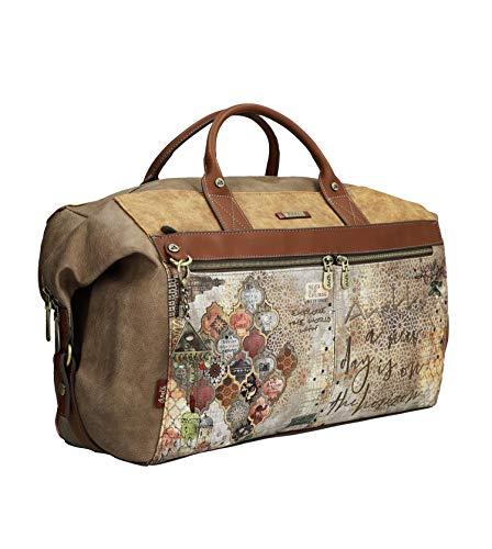 Anekke Original bolso de viaje estampado arabescos