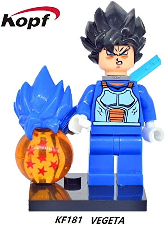Generic 20Pcs Dragon Ball Z Figures Goku Tien Shin Han Bardock Perfect Cell Gohan Bricks Christmas Building Blocks Kids Gift Toys KF371 KF181 20Pcs