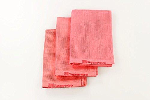 TUPPERWARE Panno Vetro in Microfibra rosso (3) 28060