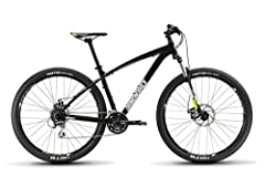 Aluminum alloy 29er hard tail frame is tried and true 14g stainless steel spokes Suspension fork provides added control and comfort on the trail Shimano drivetrain is a staple of reliability Mechanical disc brakes offer great stopping power