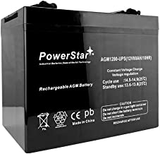 PowerStar 12V 80AH SLA AGM Battery Replaces Duracell SLAA12-80C/FR