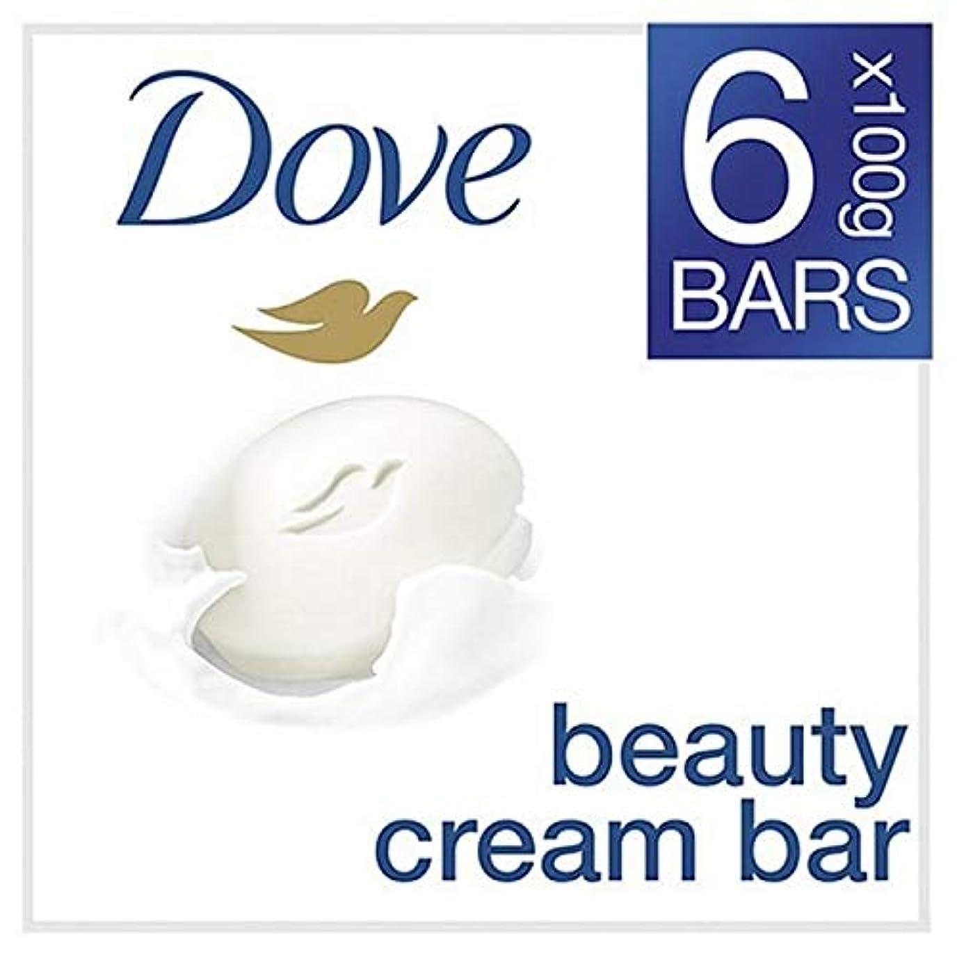 入場料成功するメタリック[Dove ] 鳩元美容クリームソープバー6のX 100グラム - Dove Original Beauty Cream Soap Bar 6 x 100g [並行輸入品]