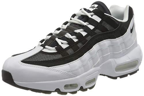 Nike Air MAX 95, Zapatillas para Correr Hombre, White Black, 42 EU