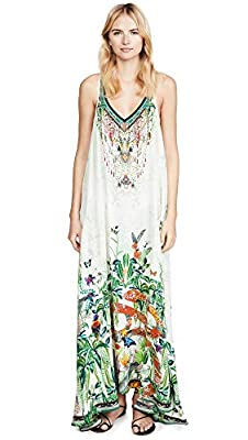 Camilla Women's V Neck Racerback Dress