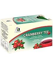 CRANBERRY - Bolsas de filtro para té (20 unidades)