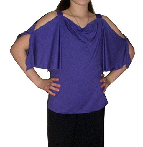 Helgas Modewelt Tanzoutfit, Tanzshirt, Fledermausshirt, Größe 38