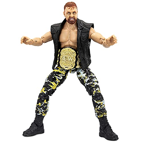 AEW All Elite Wrestling Unrivaled Collection Jon Moxley - Figura de acción de 6.5...