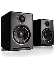 【国内正規品】Audioengine オーディオエンジン A2+ワイヤレス・パワードスピーカー l Bluetooth aptX対応・16bit DACアンプ内蔵(ブラック)