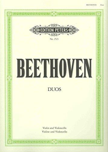 3 Duette. Violine, Violoncello