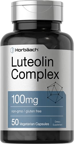 Luteolin Complex with Rutin 100mg | 50 Capsules |...