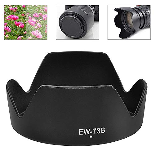 Metermall Electronics For EW-73B Lens Hood Reversible Camera Lente Accessories For Canon 650D 550D 600D Camera Len Cover
