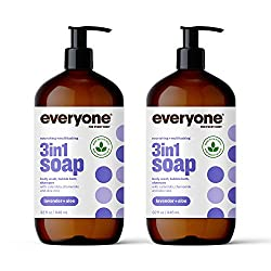 Everyone 3-In-1 Soap, Lavender plus Aloe