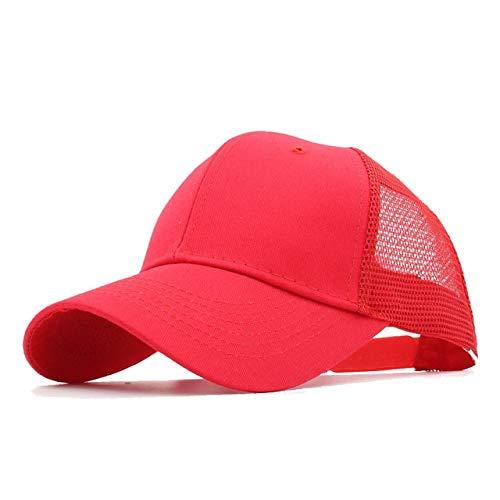 Gorras de bisbol de Moda Hombres Mujeres Snapback Hip Hop Sombrero Verano Sombrero de Malla Streetwear Gorra-a24