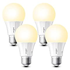 【Flexible Set Up】Hub required. Easily pair Sengled smart light bulb directly to a compatible smart hub, like Sengled Smart Hub, SmartThings Hub, Wink Hub and Habitat Hub. They are a19 Alexa light bulbs, no separate smart hub required when connected t...
