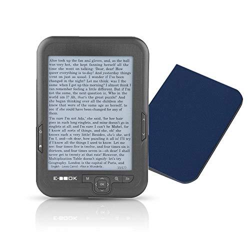 Lector de libros electrónicos de 6 pulgadas, lector digital...