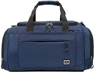 Men Fashion Travel Duffel Handbags Large Women Travel Luggage Bag Tote Weekend Portable Male Crossbody Bag (Color : Dark Blue, Size : -)
