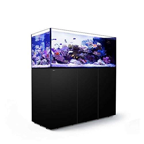 Reefer Red Sea Peninsula - Acuario Completo de Agua Marina (650 L), Color Negro