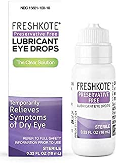 FreshKote Preservative Free Lubricant Eye Drops - .33 Oz
