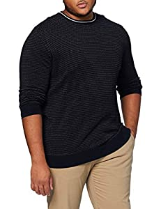 s.Oliver Big Size Herren 131.10.009.17.170.2060276 Pullover, Dark Blue, 4XL