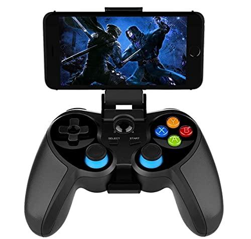 QIXIAOCYB Controlador de Juegos móvil Bluetooth Gamepad Gaming Joystick Adecuado for/Android/PC/TV Caja for la mayoría de los Juegos Populares de Juego.
