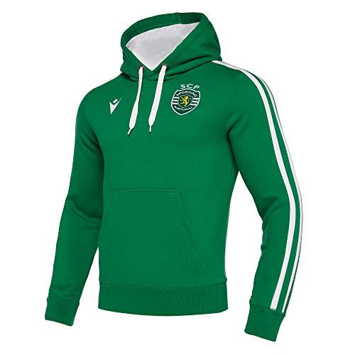 Macron Sweatshirt de Voyage Sporting Portugal 19/20