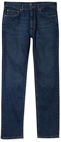 Lee Men's Premium Select Classic Fit Straight Leg Jean, Boss, 34W x 29L