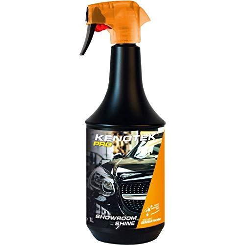 KENOTEK PRO  SHOWROOM SHINE  Cera Coche 1 L - Cera De Revestimiento Para Automóviles - Super Gloss Car Coating Spray - Luxor Wax - Un automovil brillante después de un uso