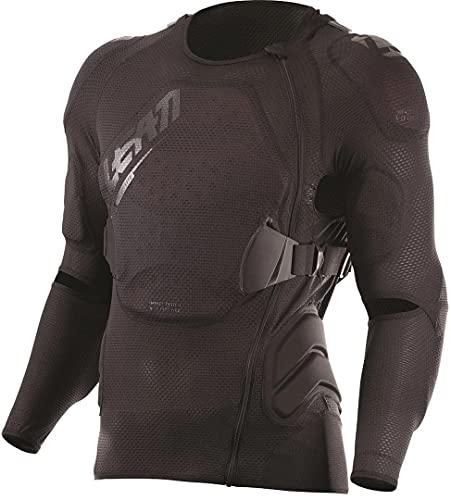 Leatt 5017180030 Unisex Adult Protective Jacket, Black, S/M 160-172 cm
