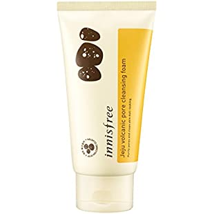 Innisfree Jeju Volcanic Pore Cleansing Foam 150ml - Jeju volcanic scoria that absorbs sebum strongly and purifies clogged pores:Priorcastleinnvictoria