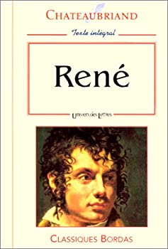 Paperback CHATEAUBRIAND/ULB RENE NP (Ancienne Edition) [French] Book