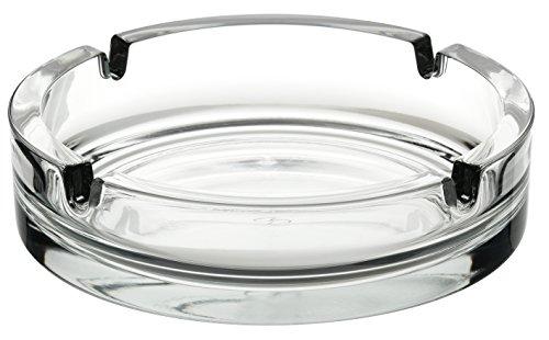 Utopia asbakken, P54046-000000-C12024, groot helder glas stapelbare asbak 5.75